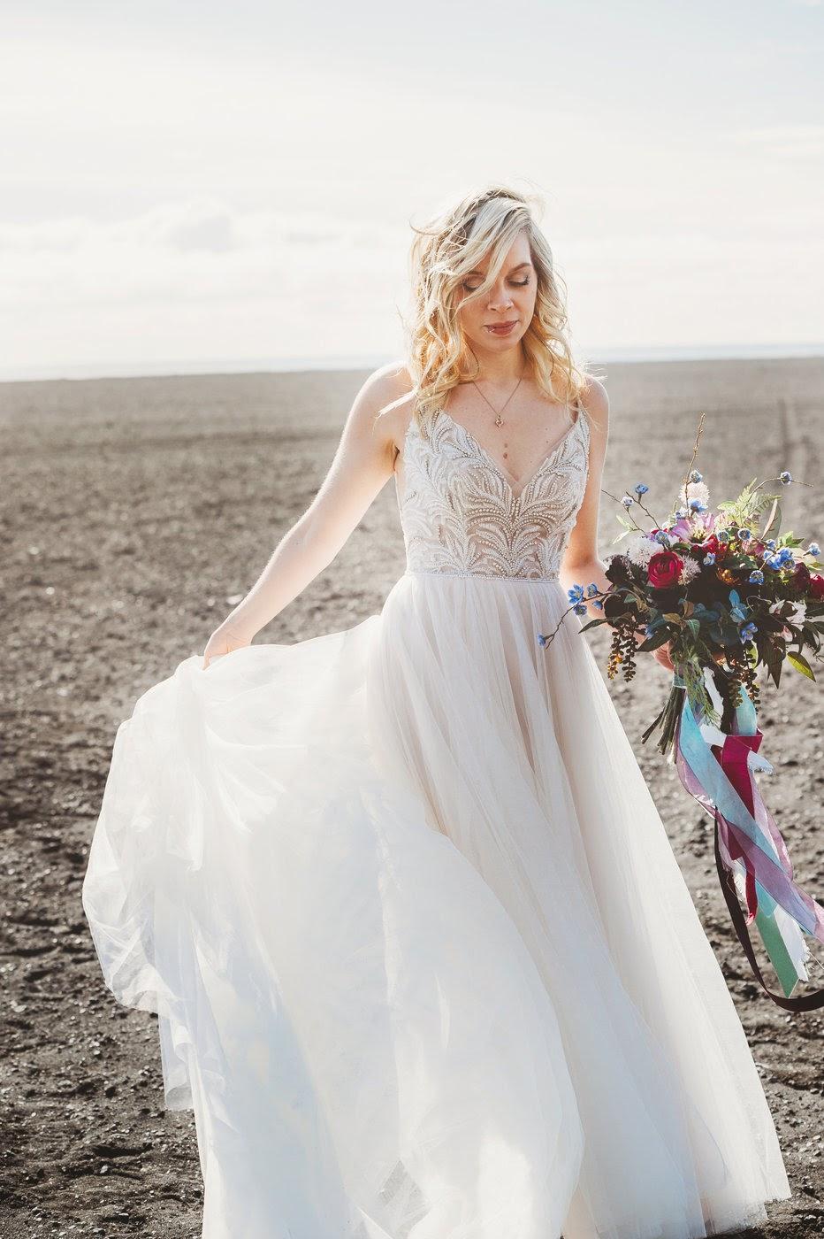 "Photo By Kara Kamenski Photography Pictured: Patty's Bride, Sydney wearing ""Charlene"" by Maggie Sottero"